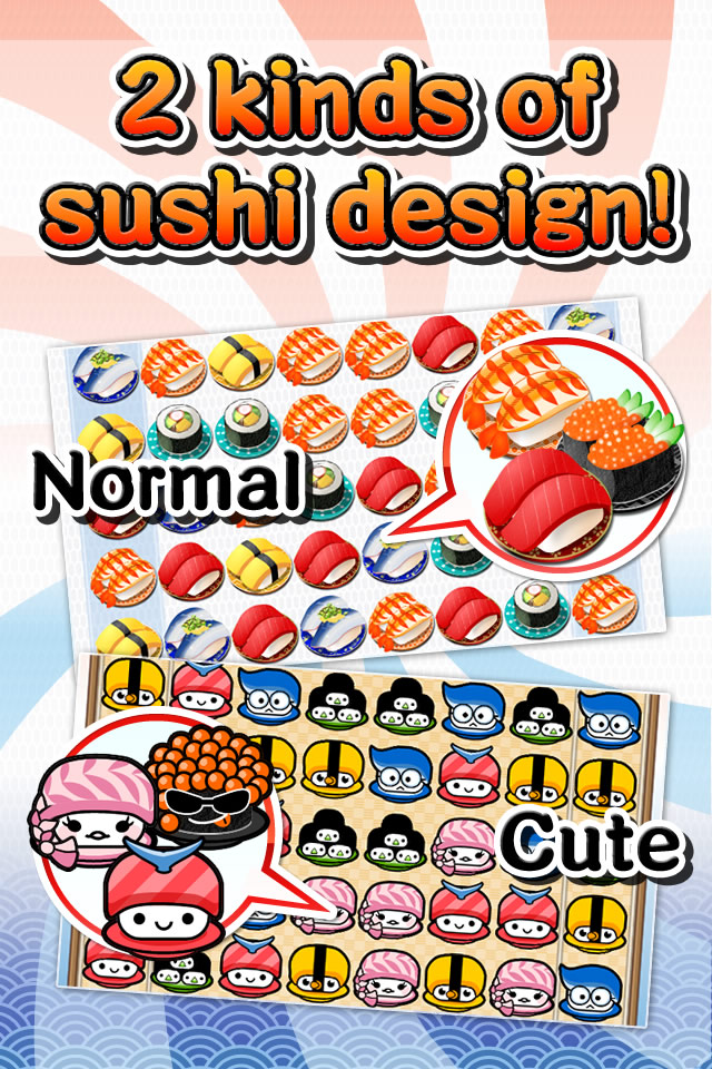 Screenshot Yum Yum Sushi Puzzle